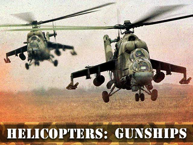 Helicopters-Gunships