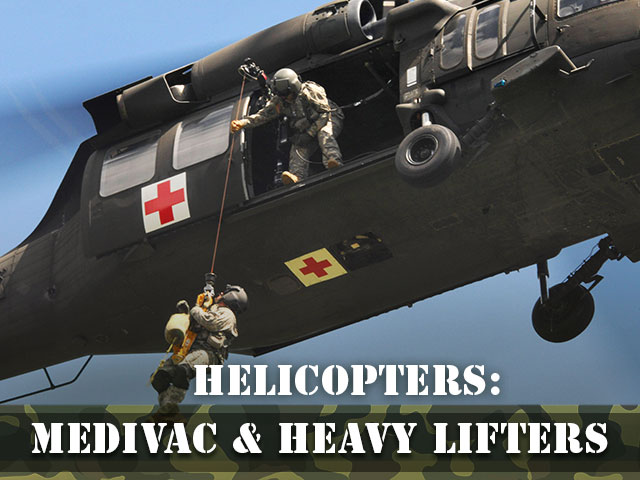 Helicopters-Medivac